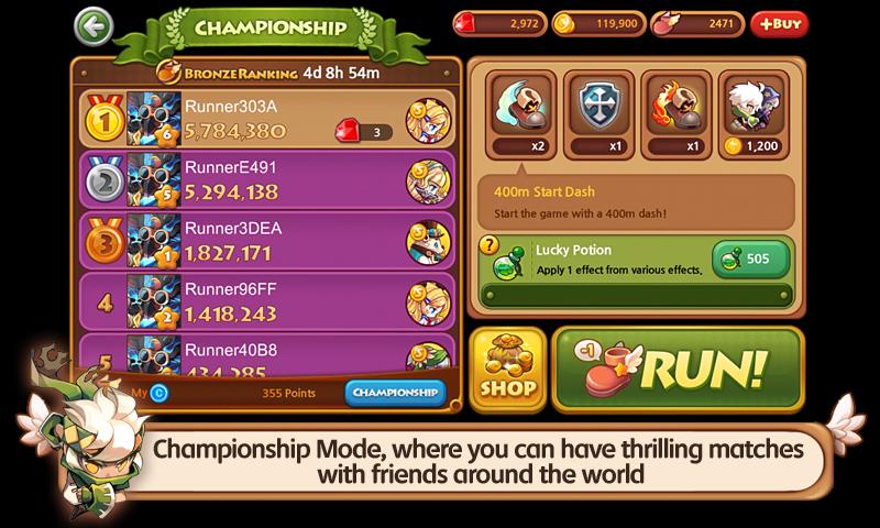 LINE WIND runner- screenshot