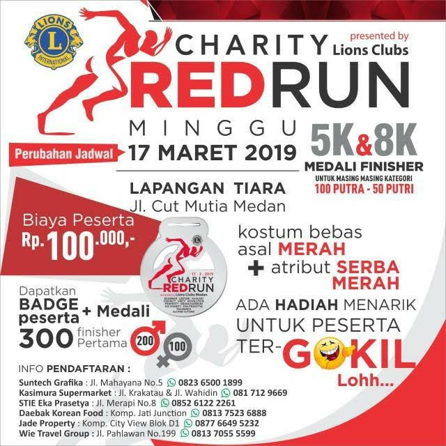 Charity Red Run • 2019