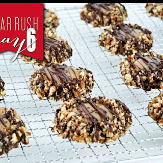 Thumbprint Turtle Cookies