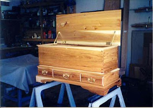 Photo: Hickory hope chest for another friend.