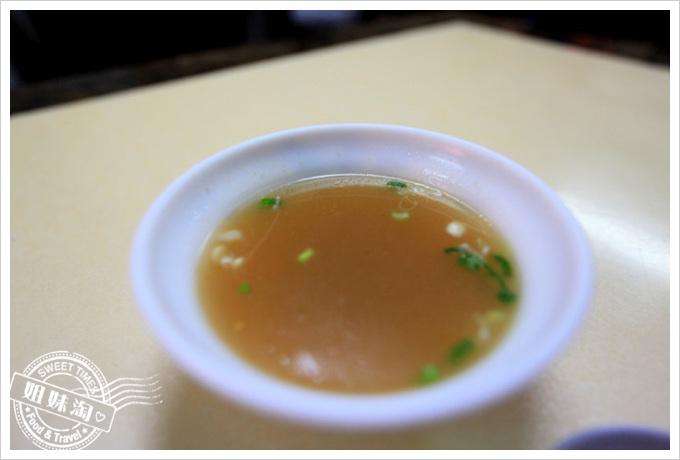 夯園牛肉麵館菜單清湯
