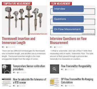 Instrumentation App - náhled