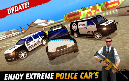 Police Car Parking: Police Jeep Driving Games screenshots 5