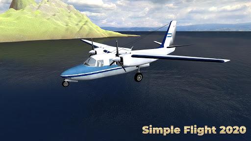 Flight Simulator Simple Flight 2020 Airplane android2mod screenshots 2