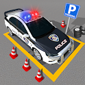 Multi Level Police Car Parking : Free Car Games icon