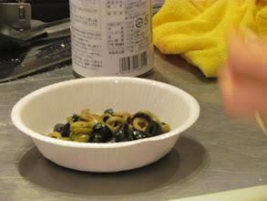 Photo: オリーブとトマトのサラダ