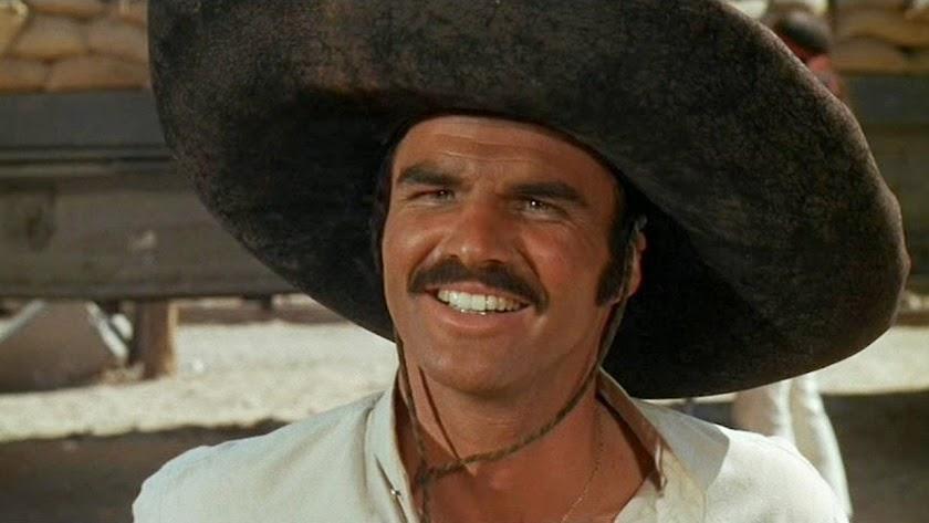 Burt Reynolds, en un fotograma de \'100 rifles\'.