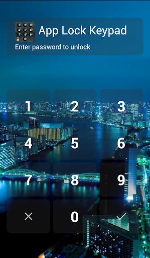 app lock keypad screenshot 1
