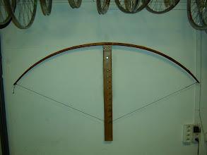 Photo: bezový longbow 71´´ ntn, náťah 30´´, stred 32x24 mm, s.f. 4 cm