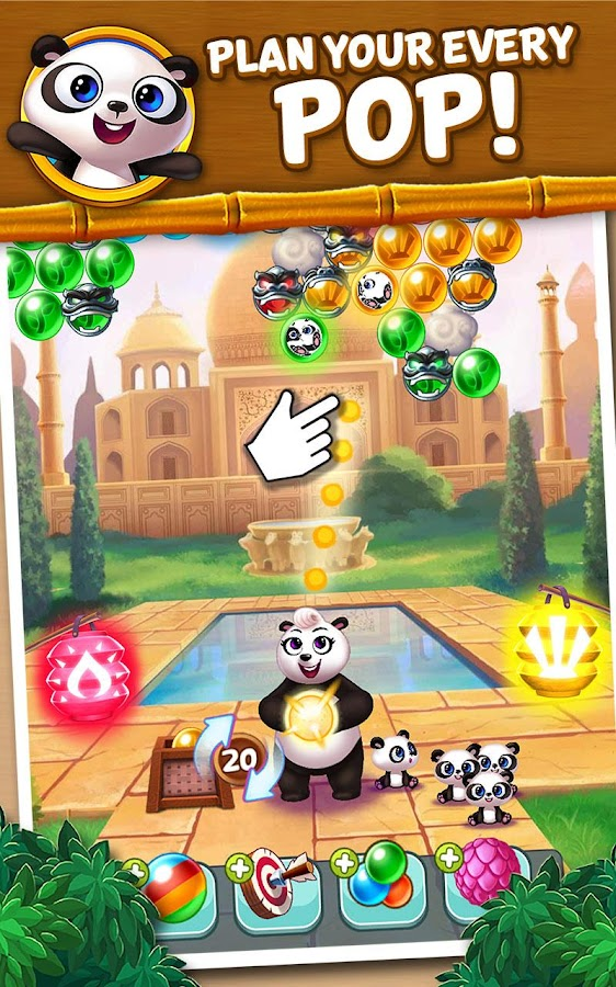 how to play panda pop