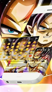 Goku DBZ Keyboard Theme - náhled