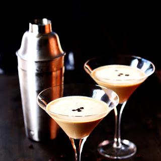 Espresso Vodka Martini.