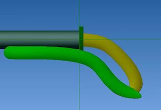 Photo: glisser et fixer une rondelle pour limiter la manœuvre du doit mobile en alignant en longueur  toute les élément et aussi restreindre espacement entre les doigts pour le maintient de petit morceau de bois ou autres