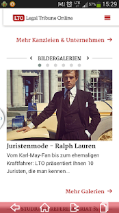 LTO.de - Legal Tribune Online- screenshot thumbnail