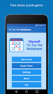 Tic Tac Toe Multiplayer- screenshot thumbnail