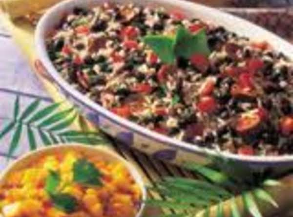 Caribbean Black Bean Casserole W Spicy Mango Salsa Recipe