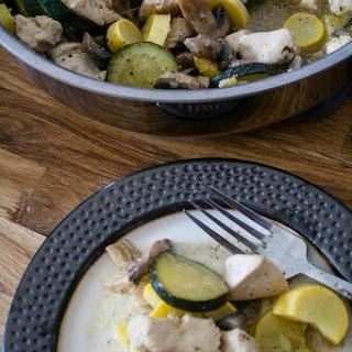 Lemon Pepper Chicken and Vegetables.