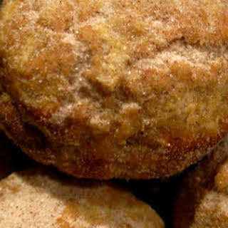 """Apple Brown Butter """"Doughnut"""" Cakes With Cinnamon and Honey."""