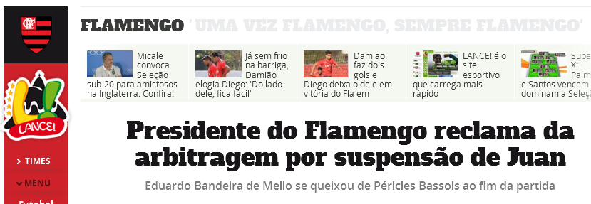 Flamengo é o time do Apito
