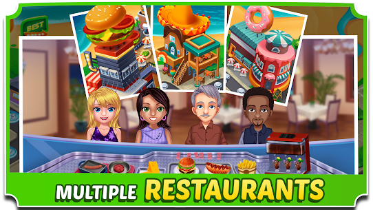 Food Court Fever: Hamburger 3 2.6.2 MOD (Unlimited Coins) 4