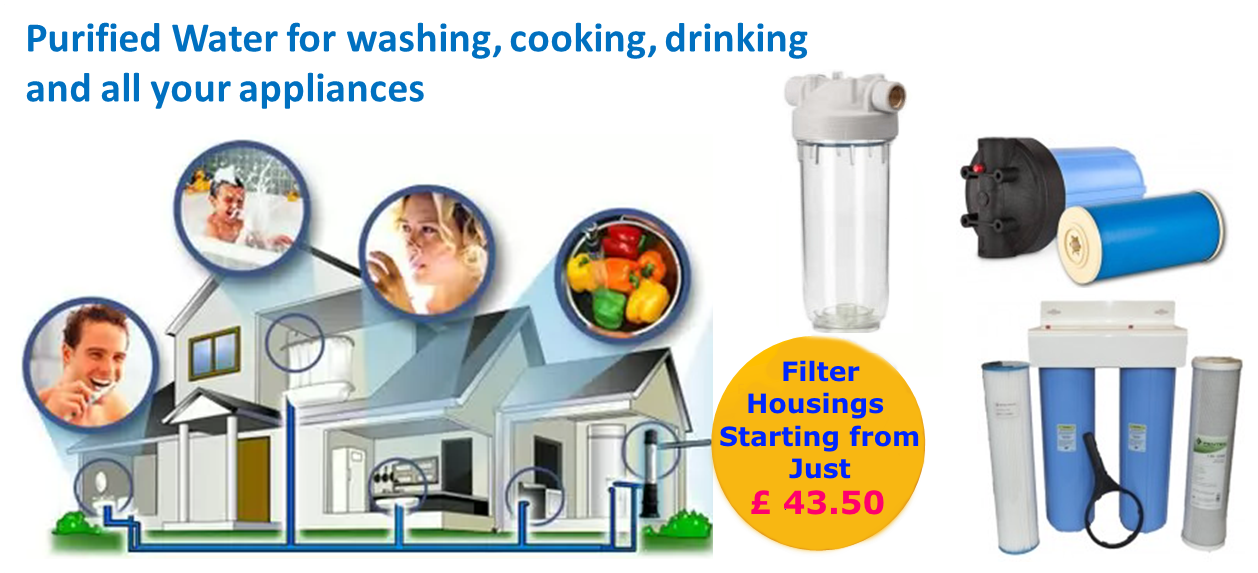 whole house water filter housings uk