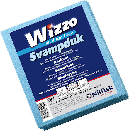 Diskduk Wizzo medium blå 10/fp
