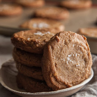 Peanut Butter Sea Salt Cookies