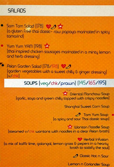 Orange Chopstick menu 4