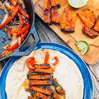 Grilled Sweet Potato Fajitas