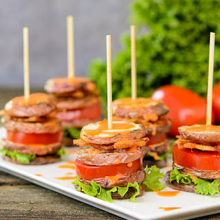 BLT Potato Salad Stacks