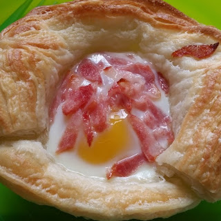 Bacon And Egg Tarts Puff Pastry Recipes