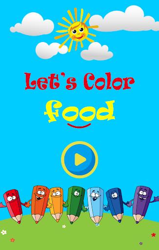 玩免費教育APP|下載Coloring Book : Food app不用錢|硬是要APP
