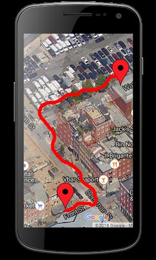 GPS Personal Tracking Route : GPS Maps Navigation 1.1.4 screenshots 3