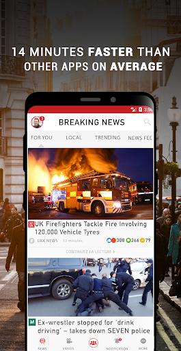 UK Breaking News & Local UK News For Free screenshot 1
