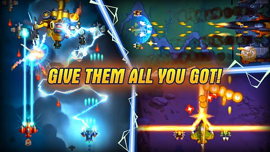 HAWK: Galaxy Shooter MOD (Unlimited Rewards) 5