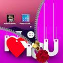 I Love You Zipper Lock Screen icon