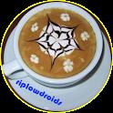 Coffee art latte ideas icon
