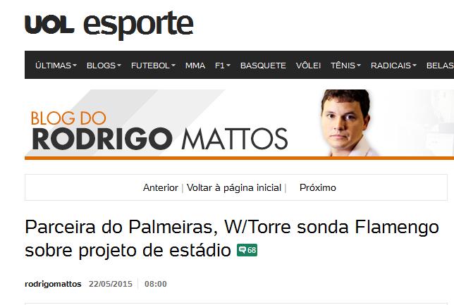 Há mais de 10 anos o estádio do Flamengo não passa de promessas e projetos