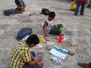 Photo: Outdoor Painting Session
