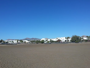 Photo: hotel lanzarote village as seen from the beach los pocilos