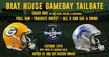 Green Bay vs Detroit 10/14/19 Lambeau Field VIP Tailgate Party + Coach Bus