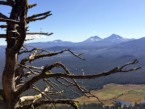 Photo: 3-Sisters & Black Butte Ranch from Black Butte