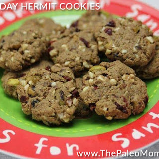 Holiday Hermit Cookies