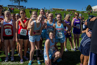 Photo: JV Girls 44th Annual Richland Cross Country Invitational  Buy Photo: http://photos.garypaulson.net/p110807297/e46cf19d8