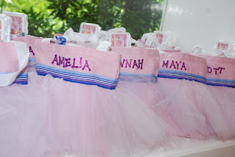 Photo: Tutu favor bags for the guests