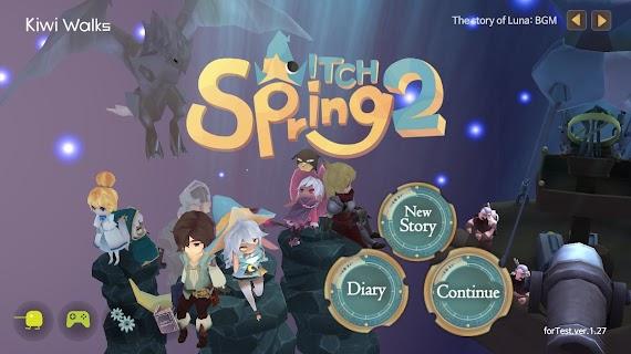WitchSpring2 1.35 (Retail & Mod) Apk + Data
