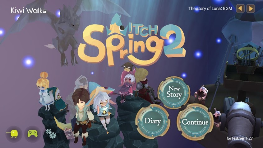 WitchSpring2 Screenshot