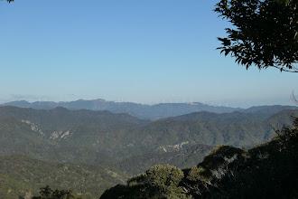 山頂からの展望6(獅子ヶ岳方面)