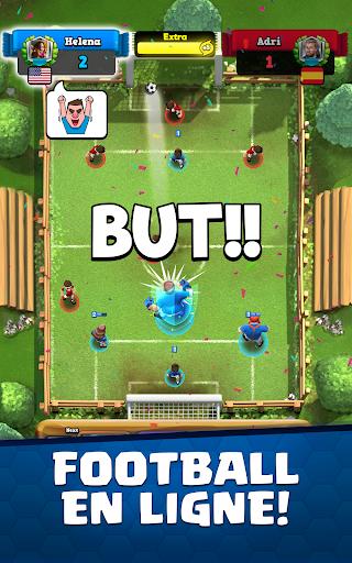 Télécharger Soccer Royale - Clash de Football APK MOD (Astuce) screenshots 1