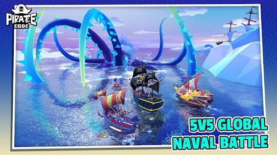 Pirate Code – PVP Battles at Sea MOD (Freeze Everyone) 1